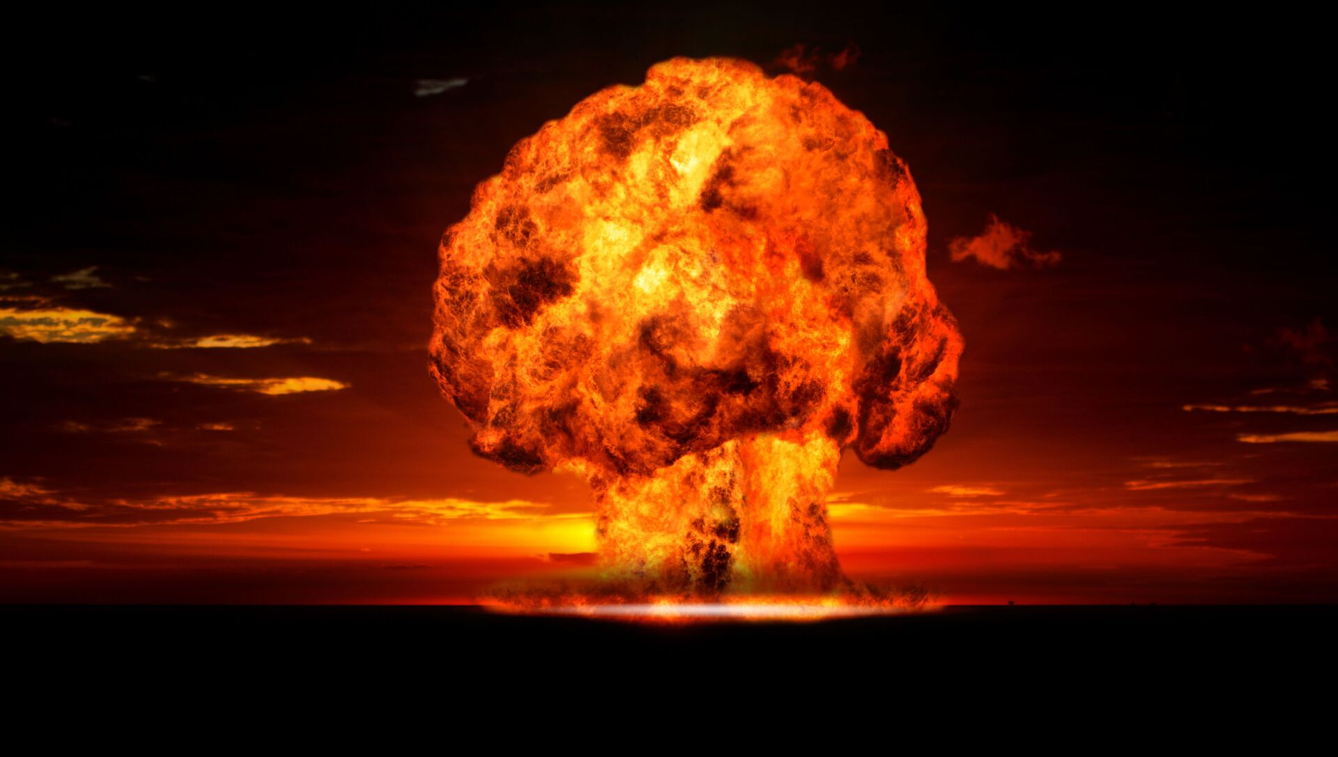 Jaderný výbuch - Sputnik Česká republika, 1920, 24.02.2021