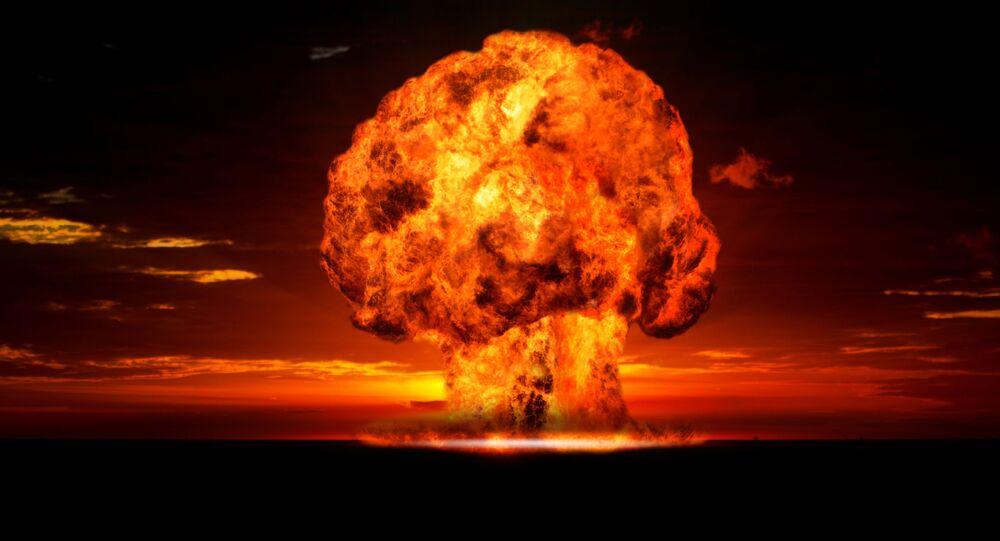 Jaderný výbuch, Illustrační foto
