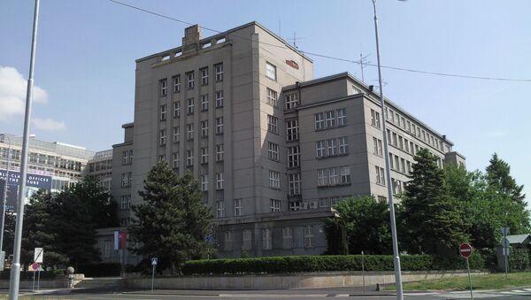 Budova slovenského ministerstva vnitra - Sputnik Česká republika