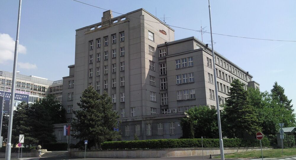 Budova slovenského ministerstva vnitra