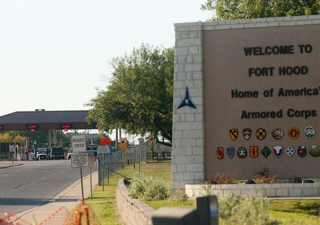 Vojenská základna americké armády Fort Hood v Texasu