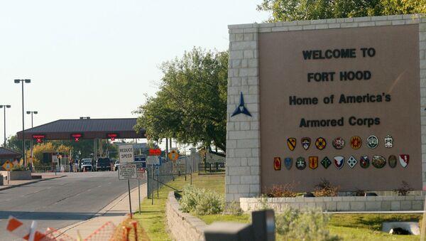 Vojenská základna americké armády Fort Hood v Texasu - Sputnik Česká republika