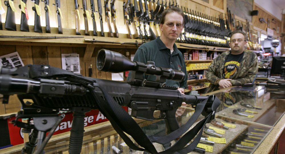 Prodej zbraní v USA