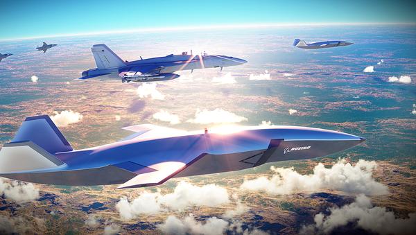Prototyp bezpilotního letounu Boeing Airpower Teaming System - Sputnik Česká republika