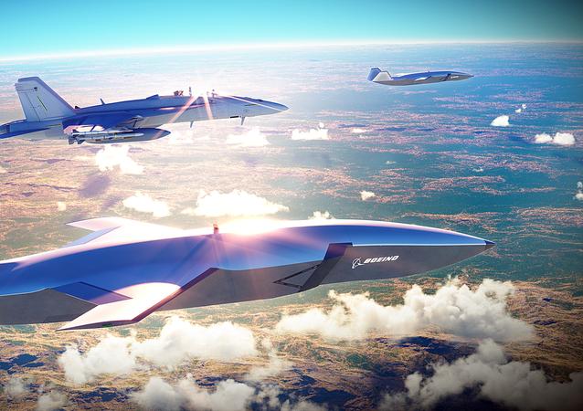 Prototyp bezpilotního letounu Boeing Airpower Teaming System
