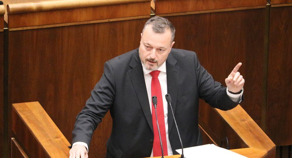 Prezidentský kandidát Milan Krajniak