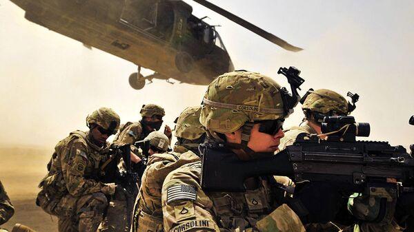 Военнослужащие армии США в провинции Кандагар, Афганистан - Sputnik Česká republika