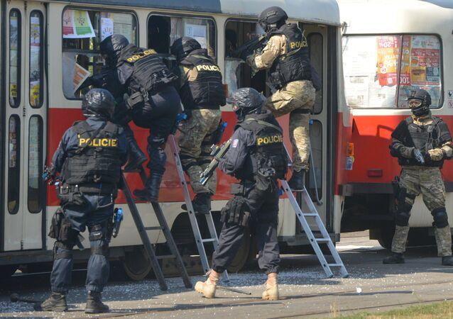 Čeští policisté
