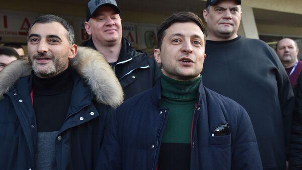 Uchazeč o post ukrajinského prezidenta komik Vladimir Zelenskyj - Sputnik Česká republika