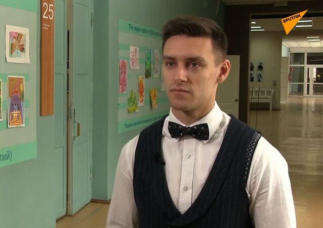Nejsexuálnějšího učitele angličtiny mají v ruském Permu
