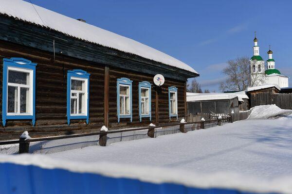 Dům u kostela ve městě Tara - Sputnik Česká republika
