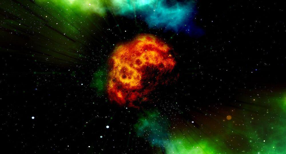 Ohnivé koule ve vesmíru