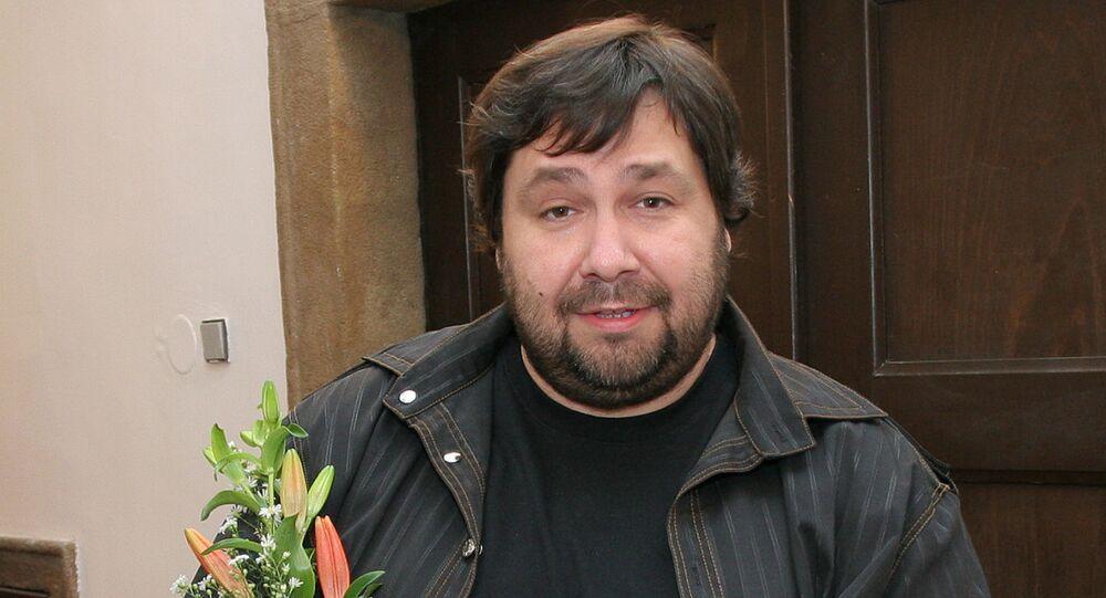 Český moderátor Luboš Xaver Veselý