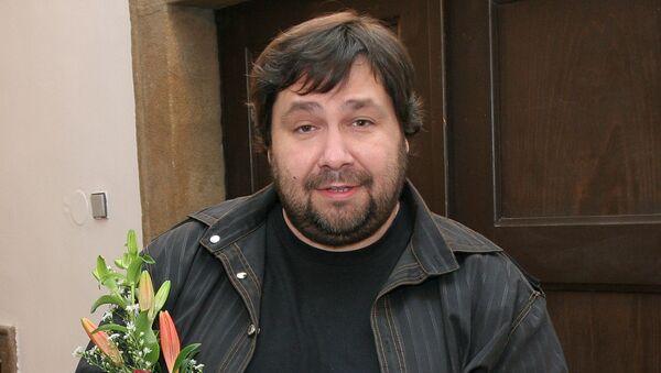 Český moderátor Luboš Xaver Veselý - Sputnik Česká republika