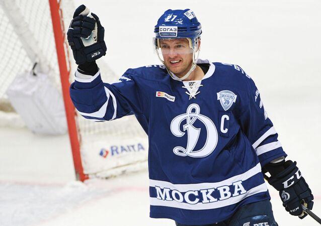 Alexej Tereščenko v dresu Dinamo Moskva