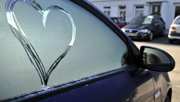 Srdce na autě - Sputnik Česká republika