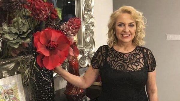 Helena Šefčovičová, manželka slovenského prezidentského kandidáta Maroše Šefčoviče - Sputnik Česká republika