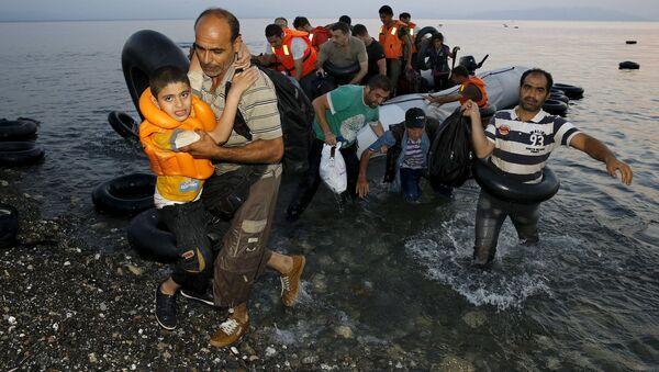 Syrští běženci - Sputnik Česká republika