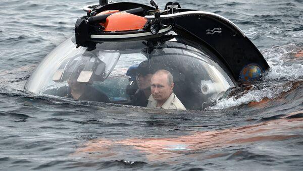 Putin se podělil o dojmy o ponoření v batyskafu - Sputnik Česká republika