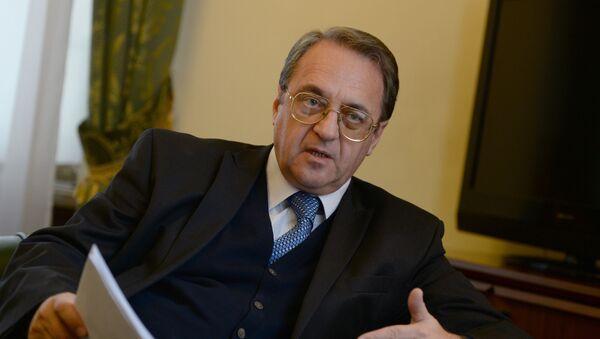 Náměstek ruského ministra zahraničí Michail Bogdanov - Sputnik Česká republika
