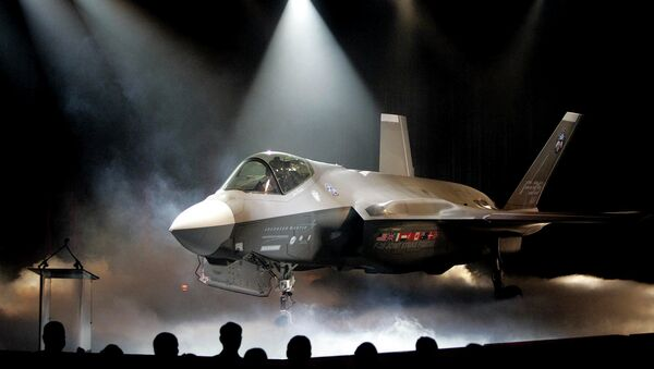 Lockheed Martin F-35 Joint Strike Fighter - Sputnik Česká republika