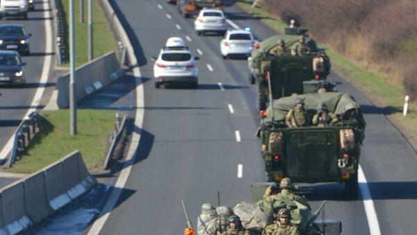 Americký konvoj v Česku. Ilustrační foto - Sputnik Česká republika
