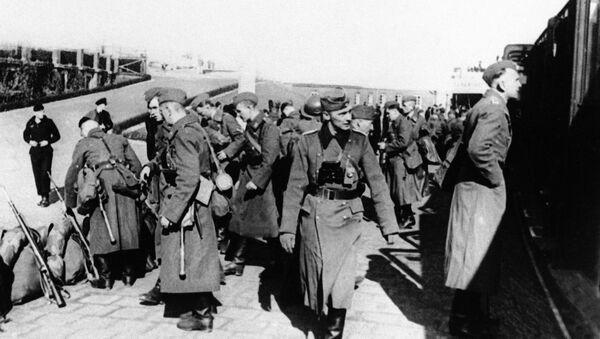 Nacistické jednotky v Dánsku. Ilustrační foto - Sputnik Česká republika