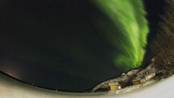 Polární záře na ruském severu. Kouzelné  představení - Sputnik Česká republika