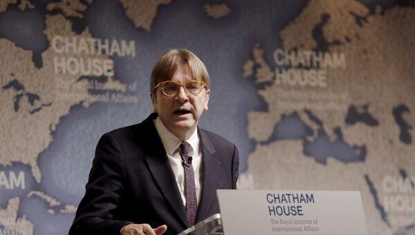 Šéf Aliance liberálů a demokratů pro Evropu Guy Verhofstadt - Sputnik Česká republika