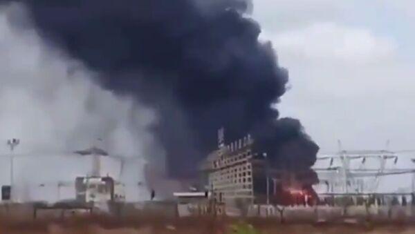 Požár ve Venezuele 9 března 2019 - Sputnik Česká republika