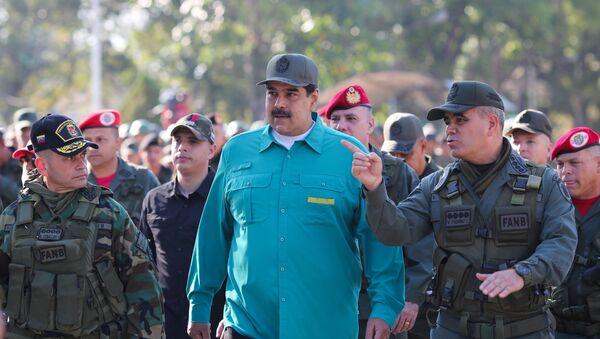 Nicolas Maduro - Sputnik Česká republika