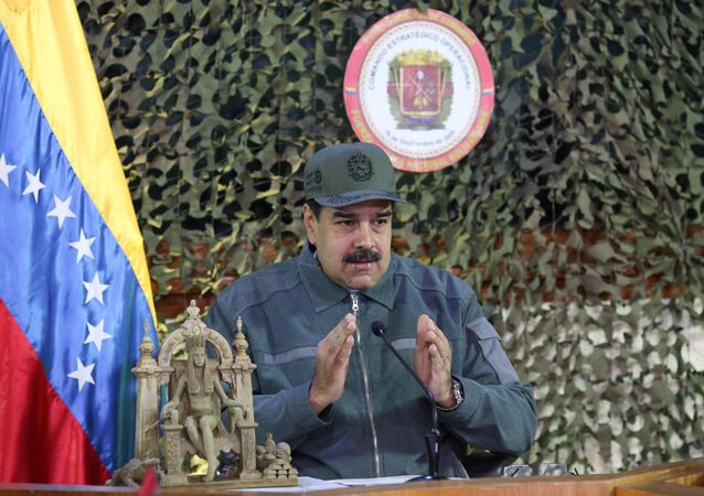 Venezuelský prezident Nicolás Maduro,