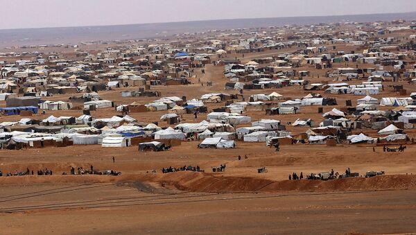 Běženecký tábor Rukban v Sýrii - Sputnik Česká republika