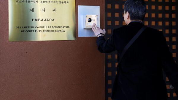 Severokorejské velvyslanectví v Madridu - Sputnik Česká republika