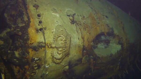 fragmenty křižníku Giovanni Delle Bande Nere - Sputnik Česká republika