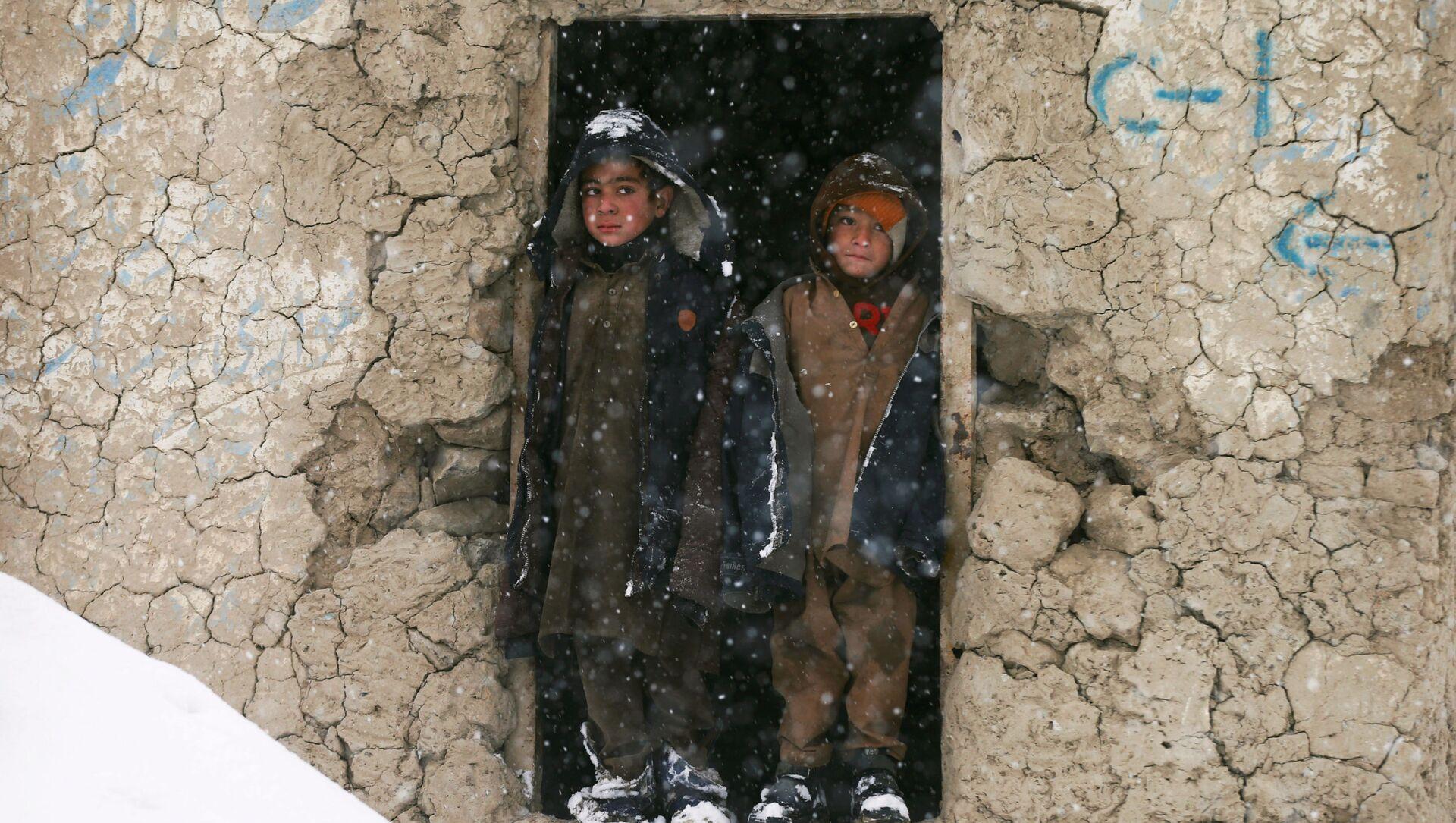 Děti v Kábulu, Afghánistán - Sputnik Česká republika, 1920, 14.02.2021