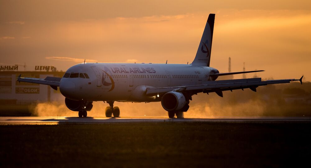 Airbus A321 Ural Airlines. Archivní foto