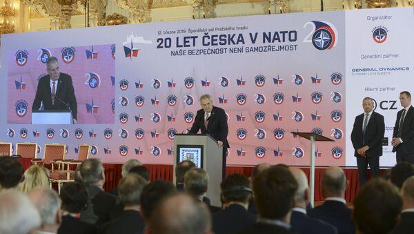 20 let Česka v NATO  - Sputnik Česká republika