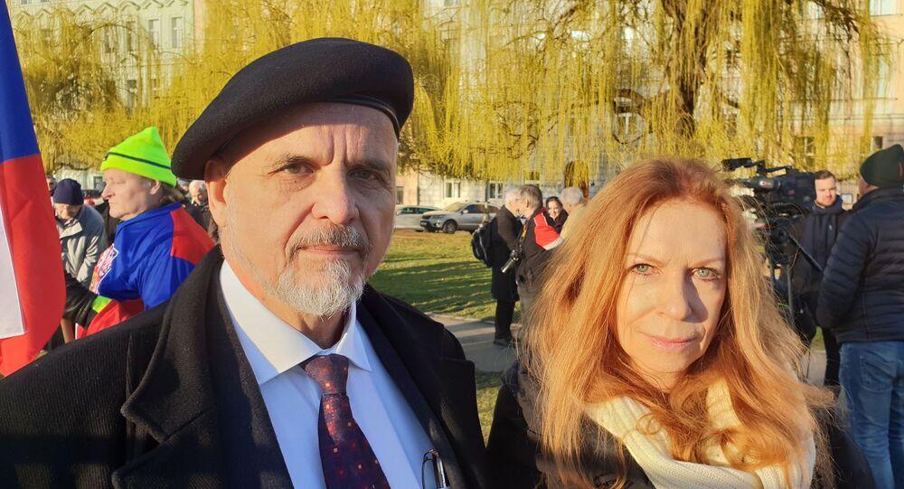 Ivan David a Lenka Procházková