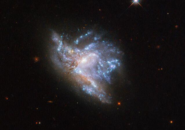 Kosmický objekt NGC 6052