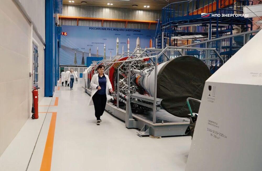 RD-171MV. Nejvýkonnější motor na světě vyvinutý v NPO Energomaš