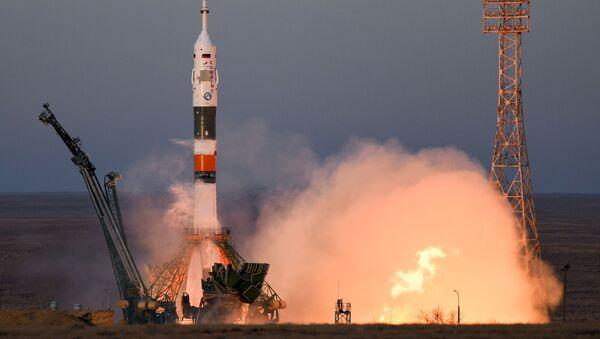 Start nosné rakety Sojuz-FG - Sputnik Česká republika
