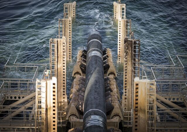Výstavba Nord Stream 2 ve Švédsku