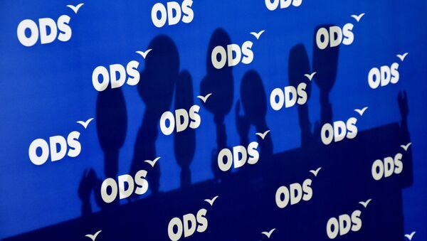 Logo ODS - Sputnik Česká republika