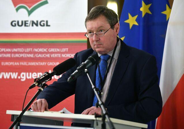 Český europoslanec Jiří Maštálka