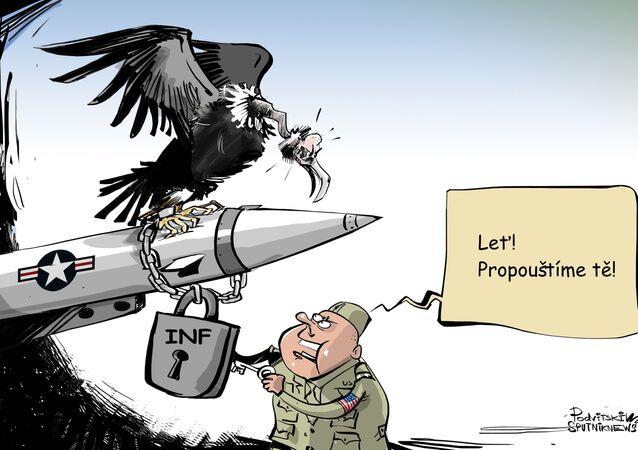 Opět na svobodě. USA se připravují na testování zakázaných raket