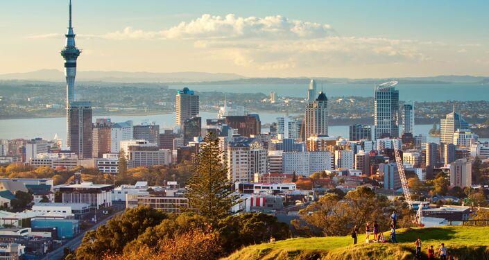 Auckland, Nový Zéland. Ilustrační foto