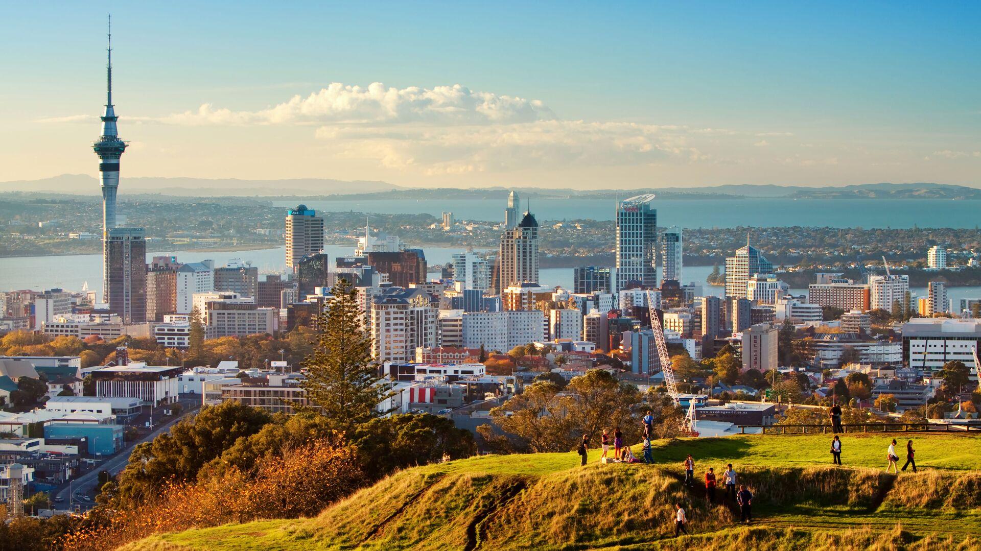 Auckland, Nový Zéland. Ilustrační foto - Sputnik Česká republika, 1920, 14.09.2021