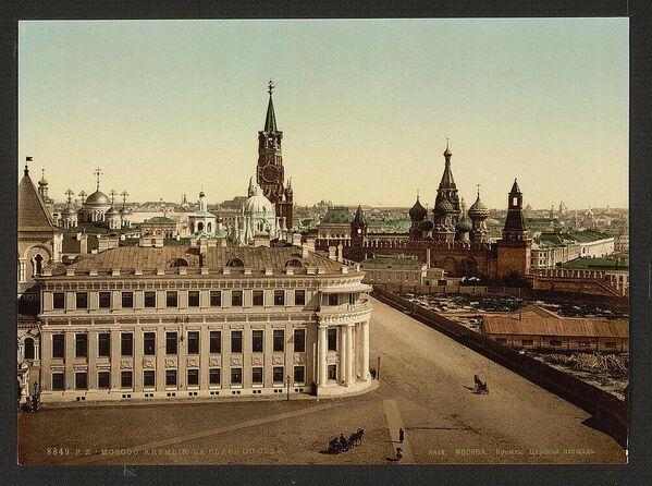 Pohled na Moskvu. Jedna z prvních barevných fotografií Ruska - Sputnik Česká republika