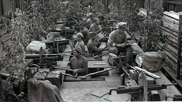 Českoslovenští legionáři v Ufě. Červenec 1918 - Sputnik Česká republika